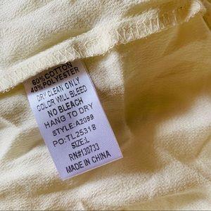 Umgee Dresses - NEW Umgee Ashton Lace Tunic Dress Large